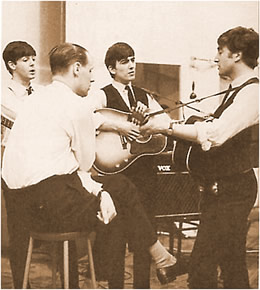 The Beatles in the Studio with George Martin 1963