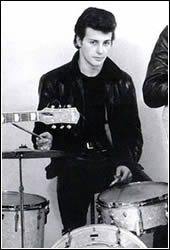 Original Beatles drummer Pete Best