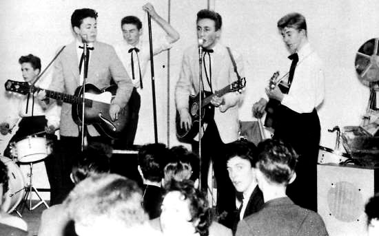 The Quarrymen With Paul McCartney And John Lennon
