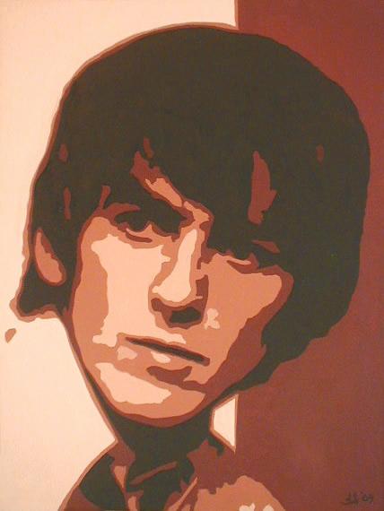 Beatleslane Com Original Oil Paintings Of The Beatles